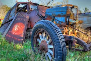 old car city photography