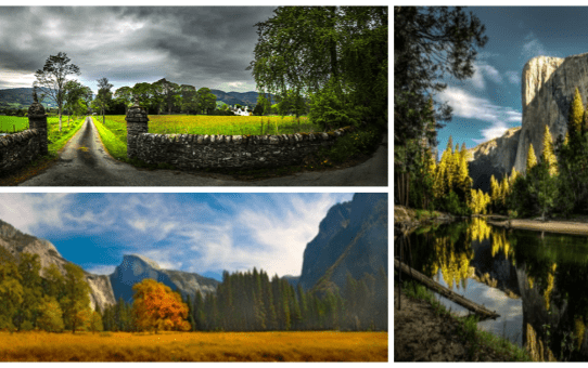 October Photo Review - Landscapes