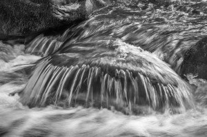 Landscape and Nature  (2nd) Water Over Rock - Steve Layman