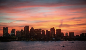 Boston Sunset - Print HM