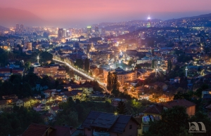 Sarajevo City Of Lights - Digital 3rd Place