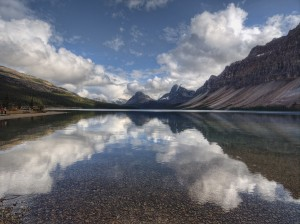 Bow Lake-Banff