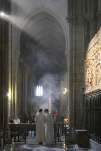 Mike GarverAlter Boys Preparing Incense At Notre Dame
