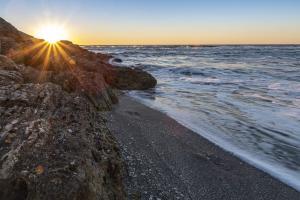 Steve GrundyRocky Beach Sunset