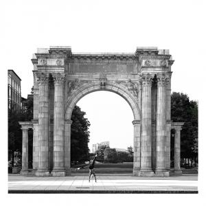 First Place PrintTitle: Columbus Arch Artist: Gittel Price Category: Print