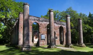 Old Sheldon Church Ruins Digital Michael Amos