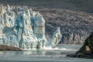 Honorable Mention - Landscape & NatureCalving Glacierby Steve Grundy